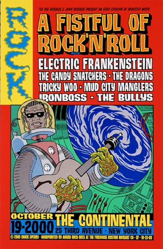 Chuck Sperry - Firehouse Electric Frankenstein 2000 Poster