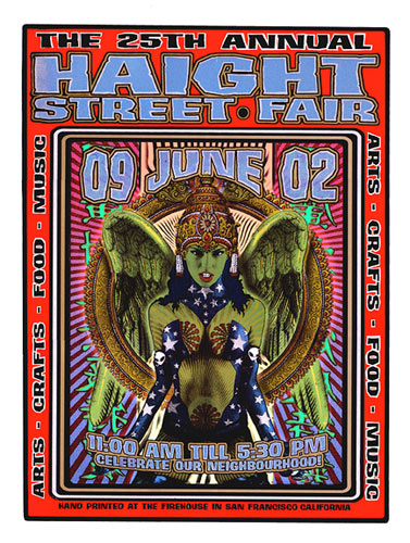 Firehouse Haight Street Fair Poster