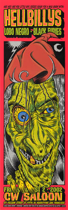 Chuck Sperry - Firehouse Hellbillys Poster