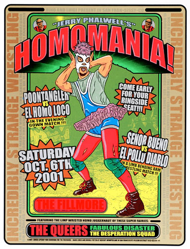 Firehouse Homomania Poster