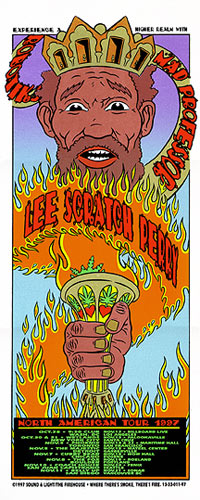 Chuck Sperry - Firehouse Lee Scratch Perry 1 Poster