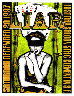 Firehouse Liar Poster
