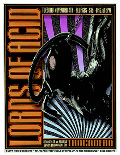Firehouse Lords Of Acid Poster