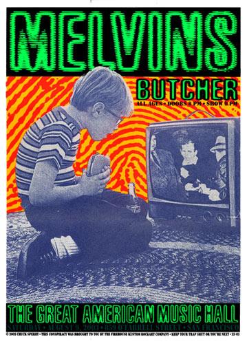Firehouse Melvins Poster