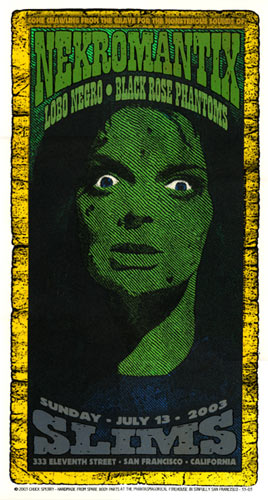 Firehouse Necromantrix Poster
