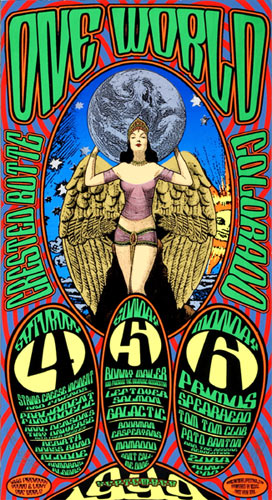 Chuck Sperry - Firehouse One World Festival  Parliament Funkadelic Poster