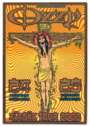 Firehouse Ozzy Osbourne Poster
