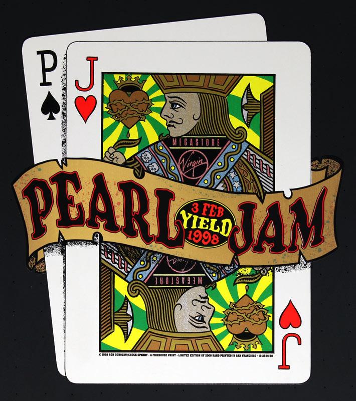 Firehouse Pearl Jam Poster