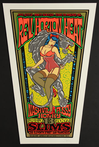 Chuck Sperry - Firehouse Reverend Horton Heat Poster