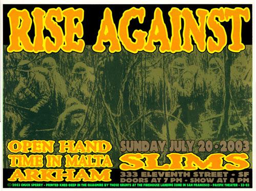 Firehouse Rise Against Poster