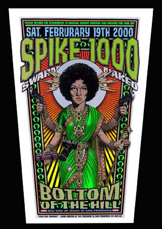 Firehouse Spike 1000 Poster