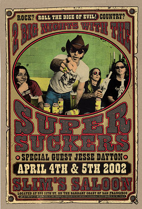 Firehouse Supersuckers Poster