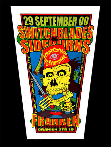 Chuck Sperry - Firehouse Switchblades & Sideburns Poster