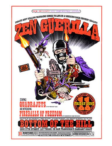Firehouse Zen Guerilla Poster