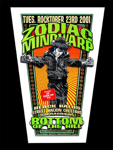 Firehouse Zodiac Mindwarp Poster
