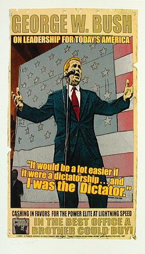 Firehouse George W Bush Poster