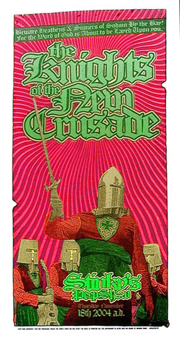 Firehouse Knights Of The New Crusade Poster