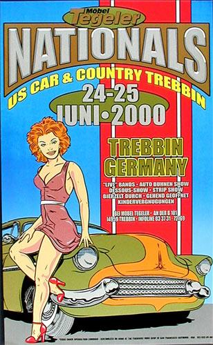 Chuck Sperry - Firehouse Mobel Tegeler Nationals Poster