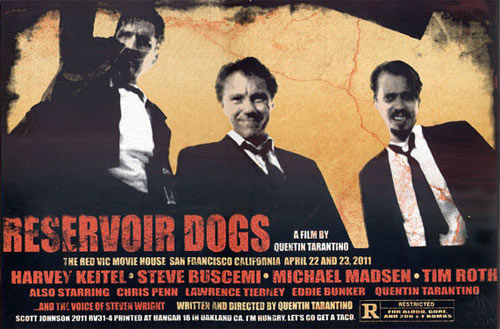 Firehouse - Scott Johnson Reservoir Dogs Movie Poster