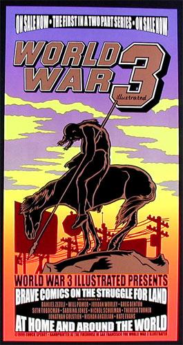 Chuck Sperry - Firehouse World War III Illustrated Poster
