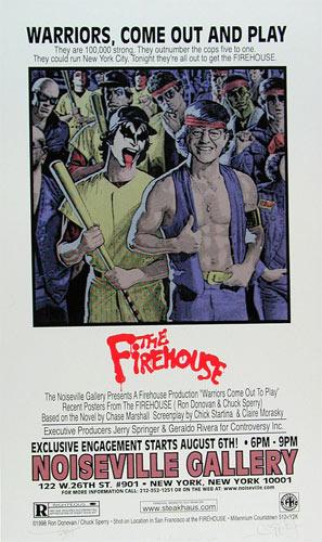 Firehouse Firehouse Art Show Poster