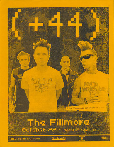 +44 (Plus Forty Four) Flyer