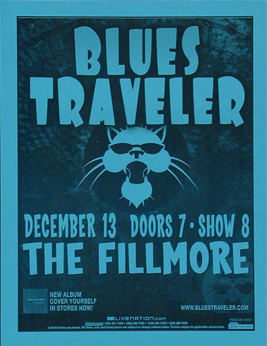 Blues Traveler Flyer