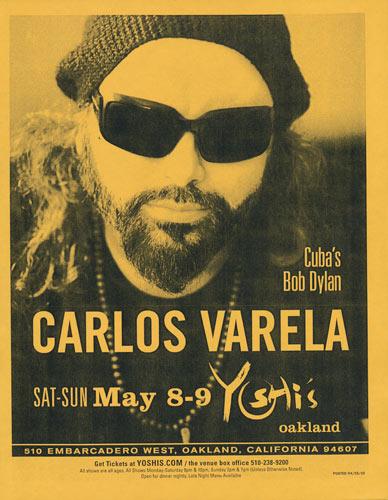 Carlos Varela Flyer