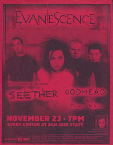Evanescence Flyer