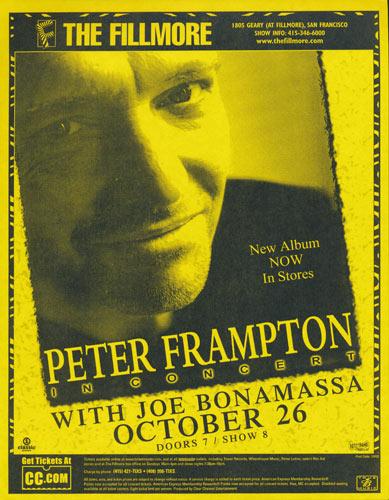 Peter Frampton Flyer
