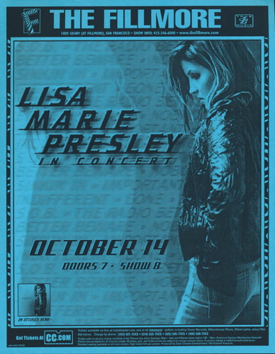 Lisa Marie Presley Flyer