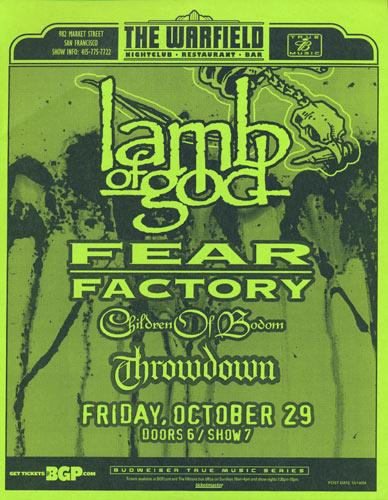 Lamb of God Flyer