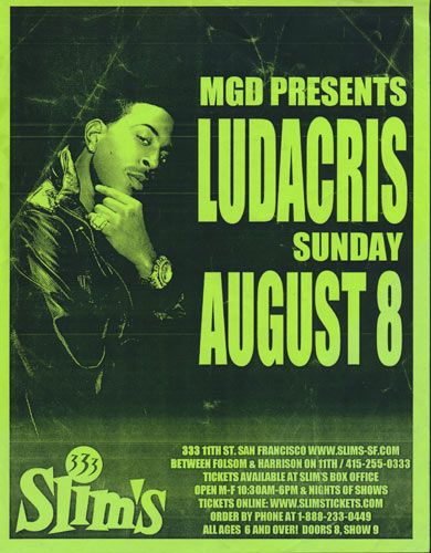 Ludacris Flyer