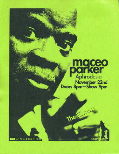Maceo Parker Flyer