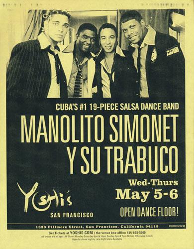 Manolito Simonet y Su Trabuco Flyer