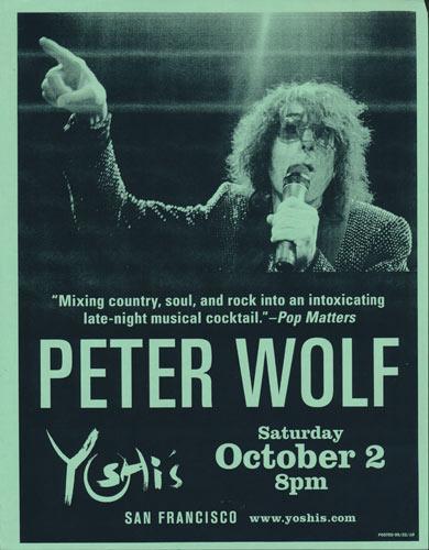Peter Wolf Flyer