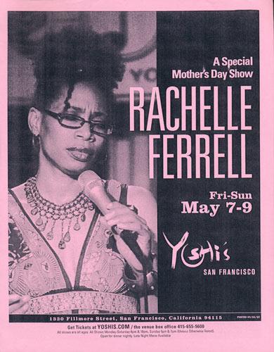 Rachelle Ferrell Flyer