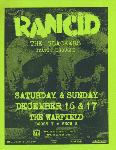 Rancid Flyer