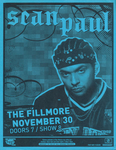 Sean Paul Flyer