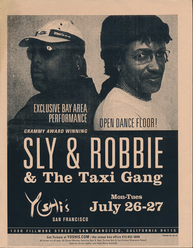 Sly and Robbie Flyer