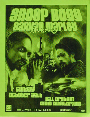 Snoop Dogg Flyer