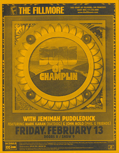 Sons of Champlin Flyer