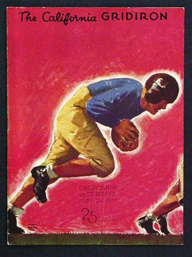 1937 Cal vs. St. Mary's College Football Program