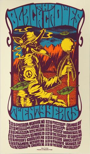 Alan Forbes Black Crowes Twenty Years Tour Handbill