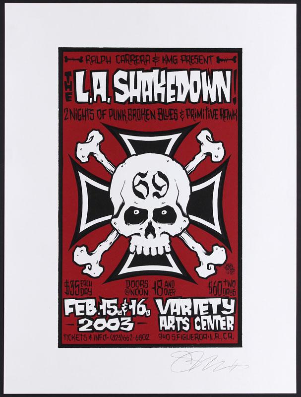 Alan Forbes L.A. Shakedown Poster