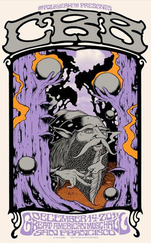 Alan Forbes Chris Robinson Brotherhood Night 3 of 4 Poster