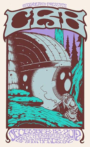Alan Forbes Chris Robinson Brotherhood Poster