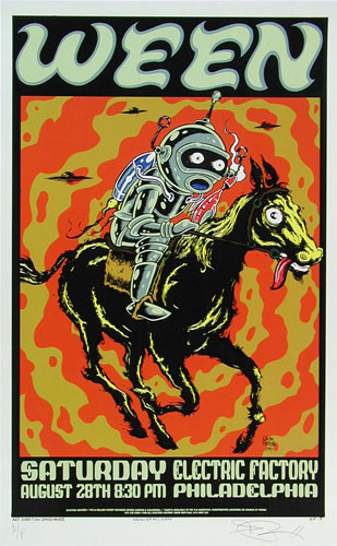 Alan Forbes Ween Poster