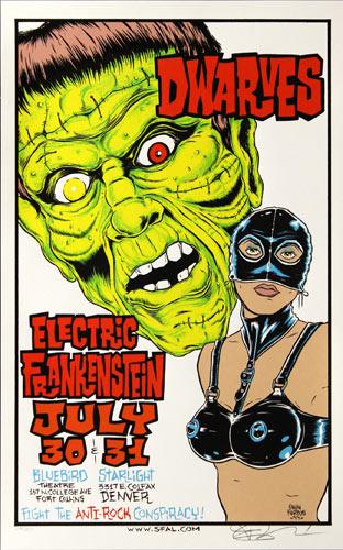 Alan Forbes Dwarves Poster Poster