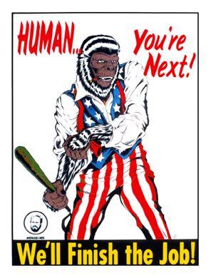Alan Forbes Human... You're Next Poster Art Print
